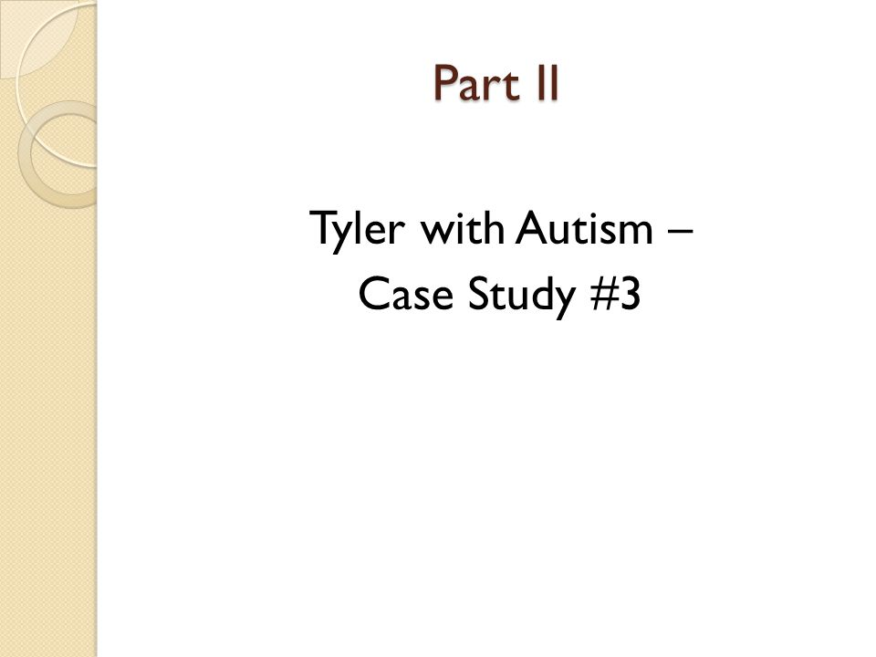autism case study questions Questions for daniel geschwind: making autism studies diverse  cases — in  this case, people with autism — and controls because of.