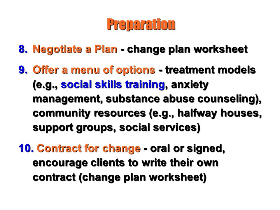 Stages of Change and Treatment Matching ppt video online download – Change Plan Worksheet
