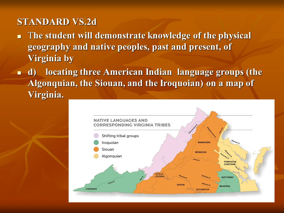 More Than Arrowheads New Virginia Indian Content In The