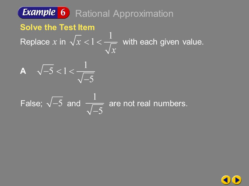 Rational Approximation