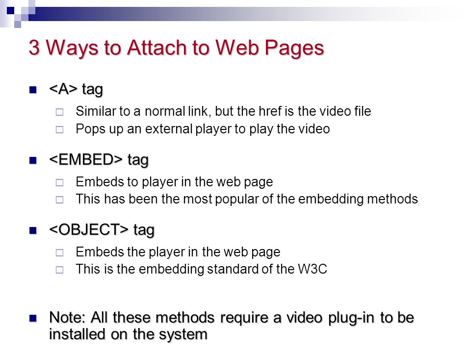 3 Ways to Attach to Web Pages