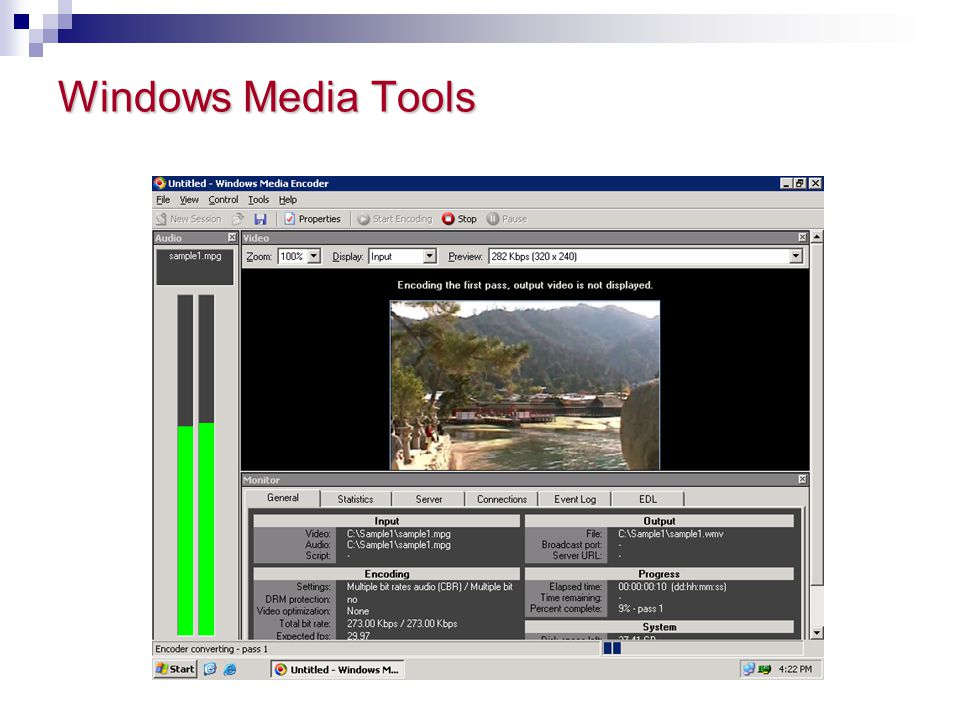 Windows Media Tools