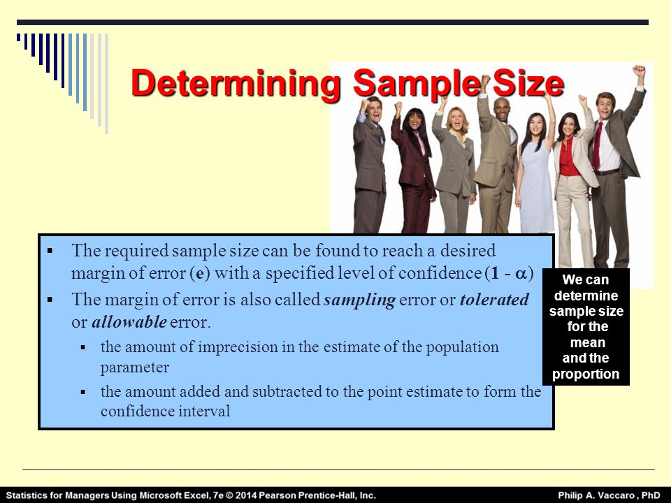 determining sample size Getting the most out of surveys requires a few prerequisites and one is understanding and determining sample size contact us for a free consultation.