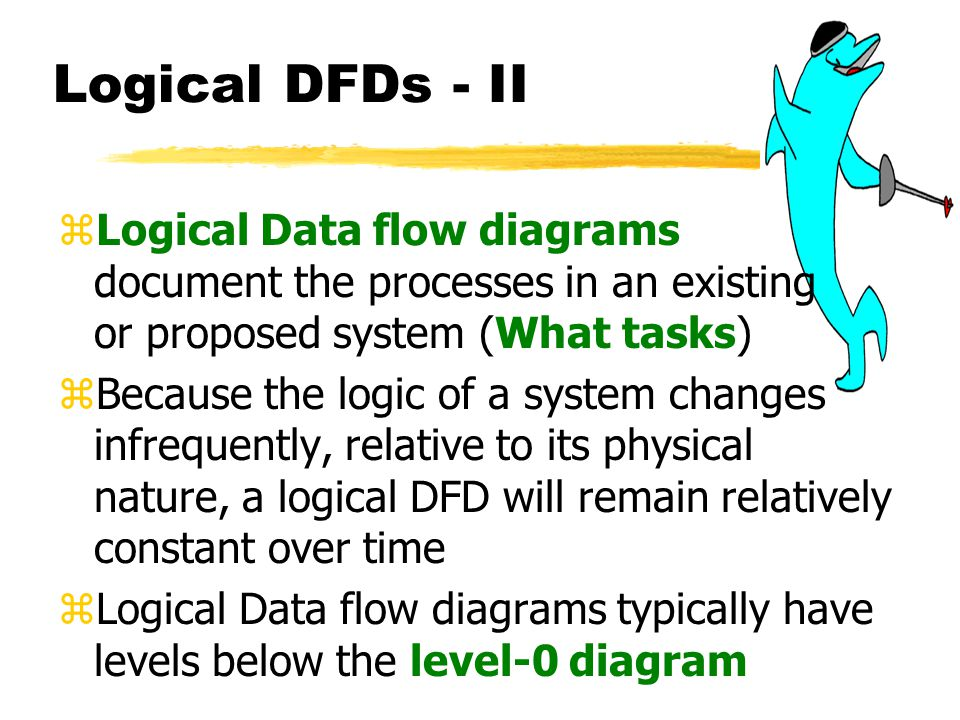 provide a high level logical data flow diagram of the proposed system Limitation of current system4 proposed system  from the context level diagram we examine high-level  the context level diagram is the most abstract data flow.