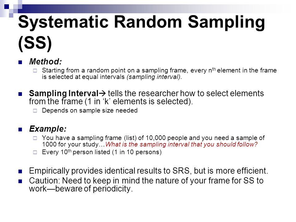 PROBABILITY SAMPLING: CONCEPTS AND TERMINOLOGY - ppt download