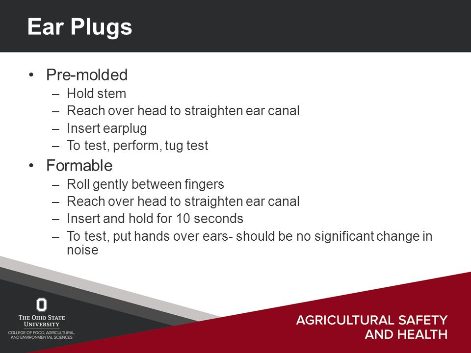 how to put in ear plugs properly