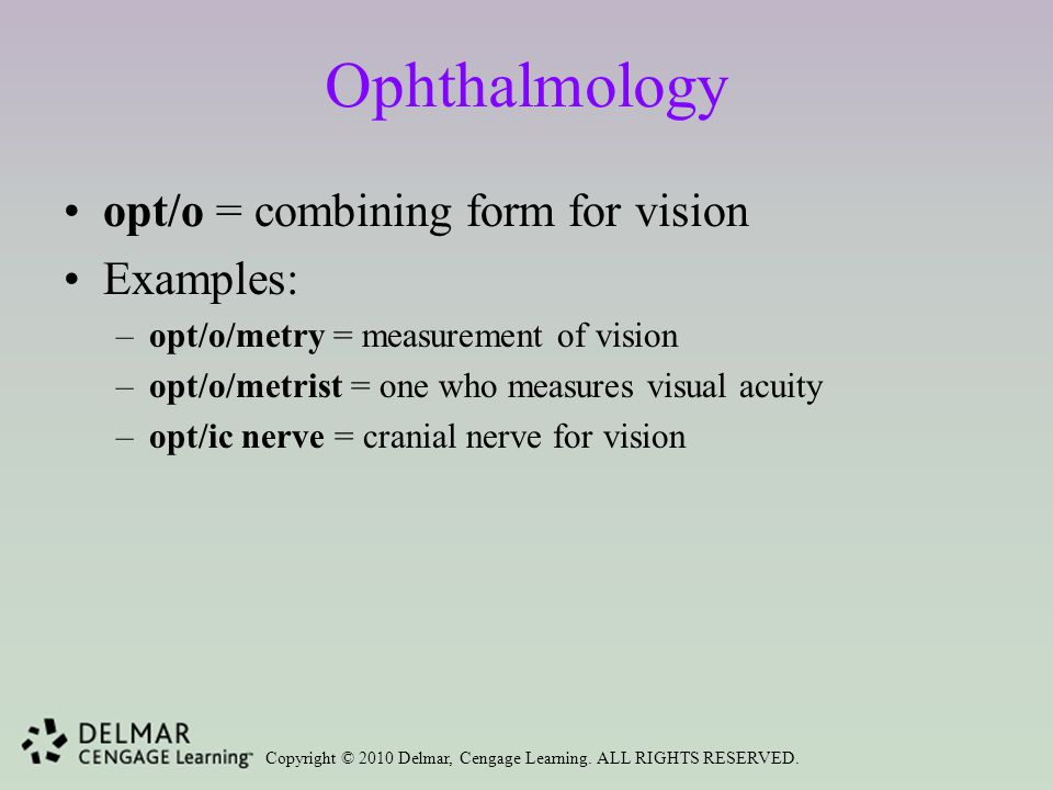 Ophthalmology, Endocrinology, and Medical Specialties - ppt download