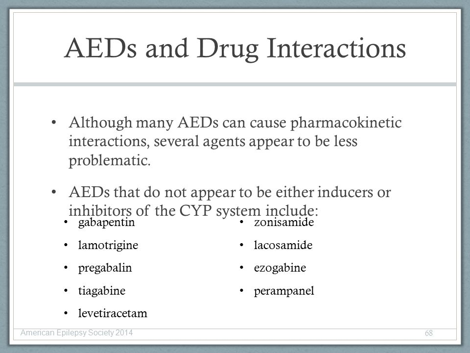 pregabalin drug interactions