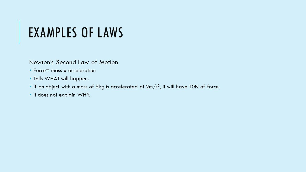 10 examples of newtons second law in real life life persona
