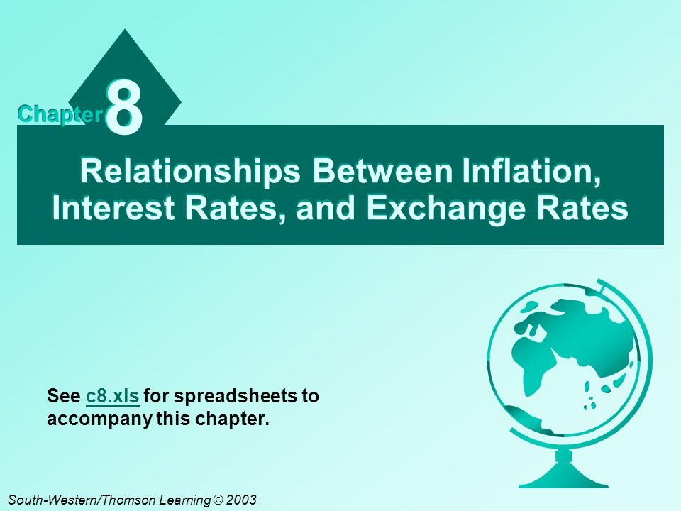 effect of inflation and exchange rate on the ppp theory To calculate the purchasing power parity (ppp) exchange rates for countries a, b, c and d during the period 2002 – 2007, the following steps are followed: first, the local inflation rate was calculated based on each country's consumer.