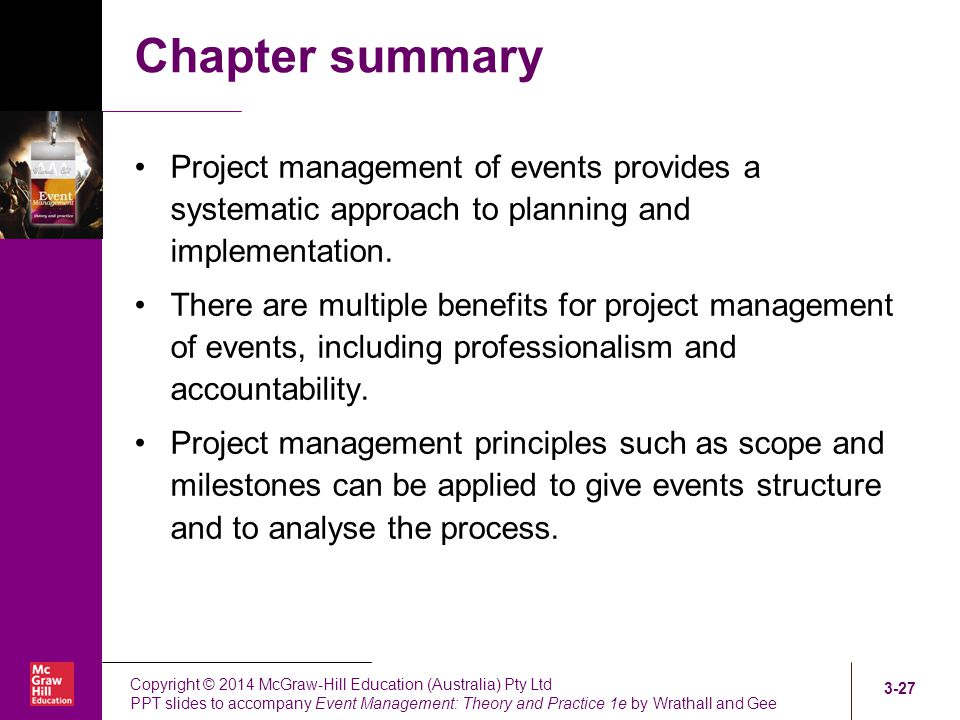 planning and implementation of events What do you use planning and evaluation for planning and evaluation are vital for organisations planning is a process of deciding in advance where we want to get to.