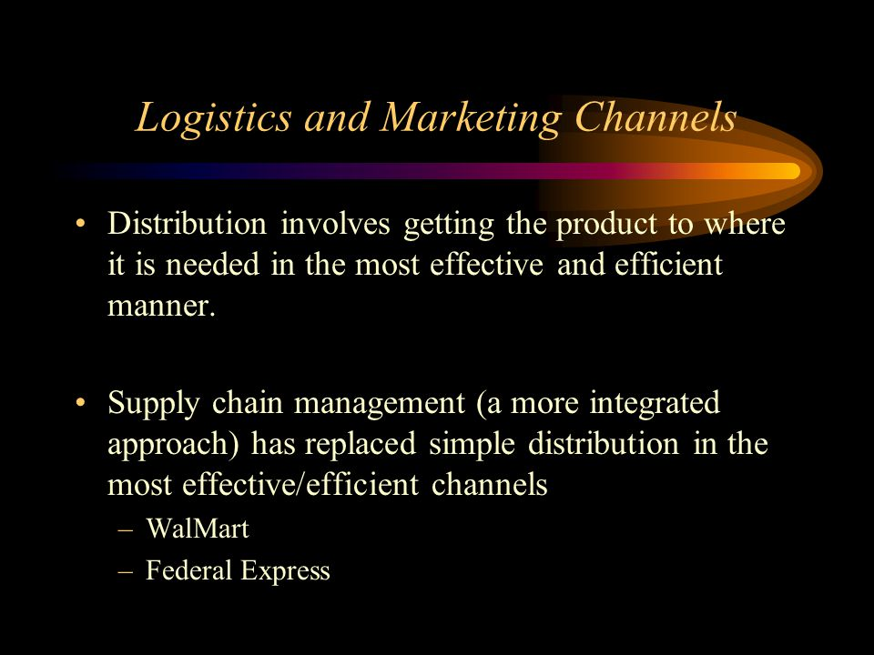 physical distribution and logistics of mcdonalds Mc donalds scm - download as  it relates to the physical  frozen  chilled & any dry goods procurement logistic warehousing & packaging distribution logistics.
