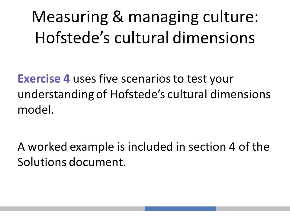 italy hofstede s cultural dimensions Hofstede's cultural dimensions have formed a fundamental  in masculine  cultures, such as mexico, italy, japan, and australia, tough values.