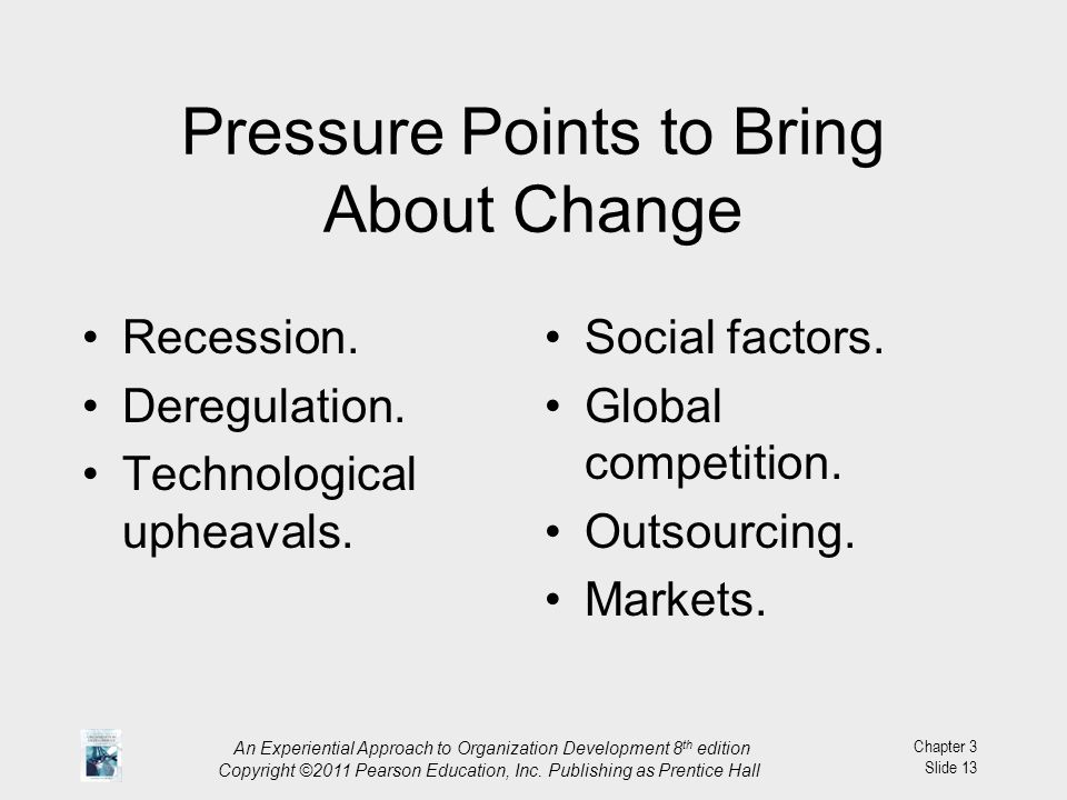 Pressure Points to Bring About Change