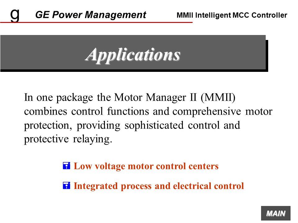 g ge power management mmii intelligent mcc controller ppt g ge power management mmii intelligent mcc controller applications