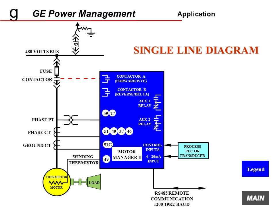 g ge power management mmii intelligent mcc controller ... single line diagram for elevator #13