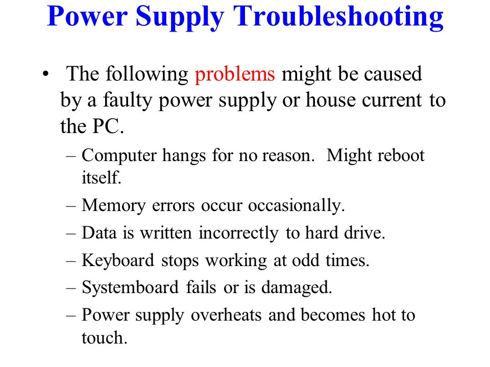 Power Supply. - ppt video online download