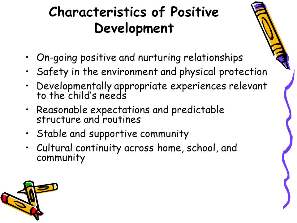 positive environment for child development pdf