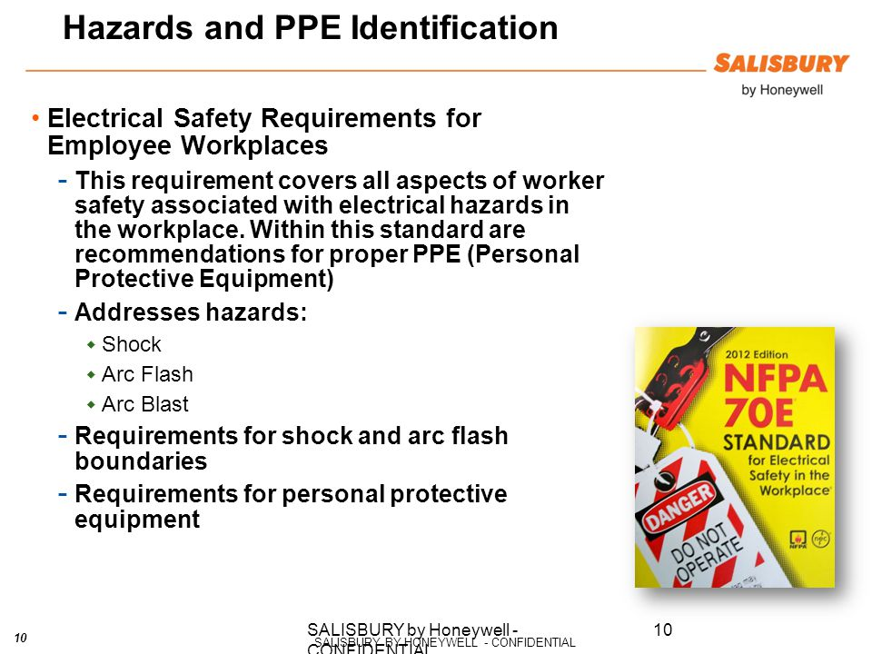 personal protective equipment in workplaces Personal protective equipment will vary from occupation to occupation for example, medical professionals will have easy access to gloves and gowns to protect them from bloodborne pathogens while forklift drivers will have quick access to a hard hat to protect them from head injury.