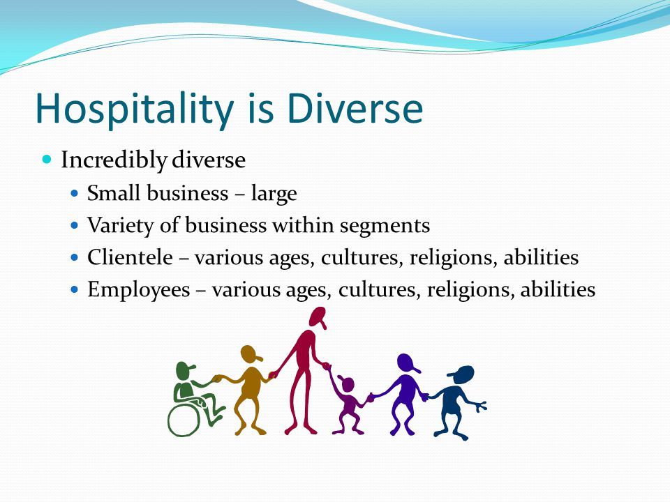 Hospitality is Diverse
