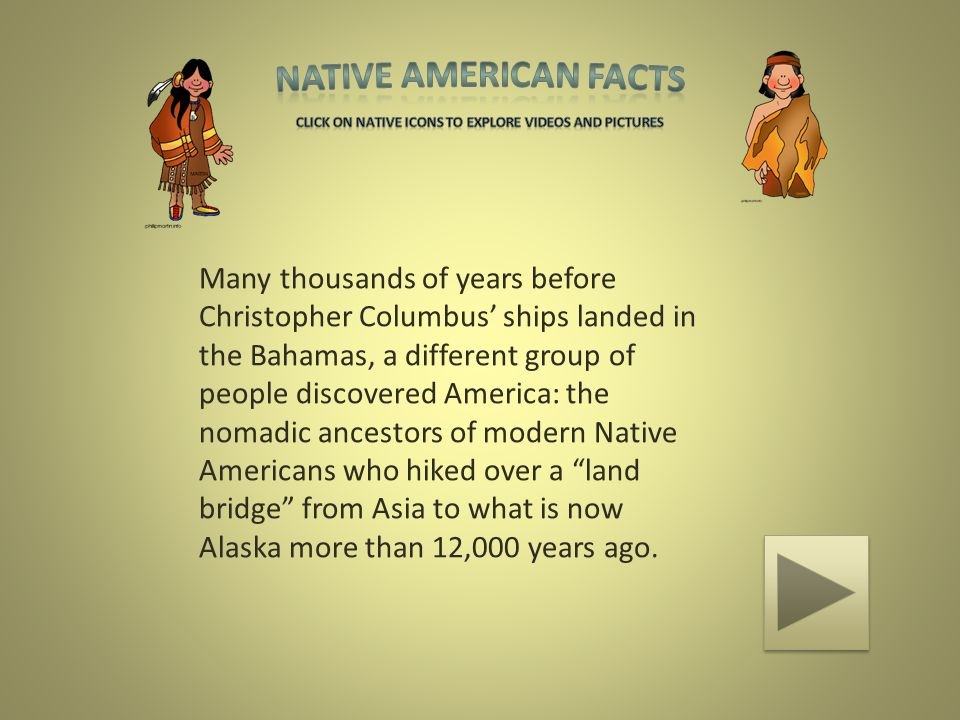 3 Native American Facts