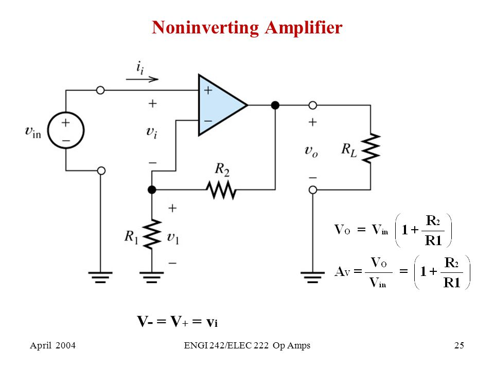 Noninverting Amplifier