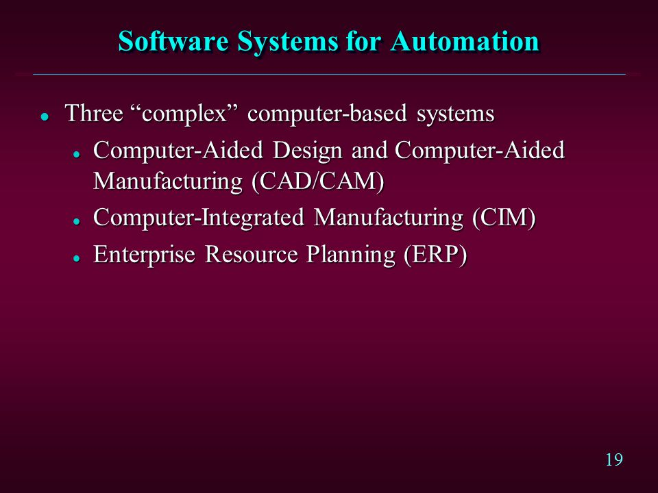 computer automation software