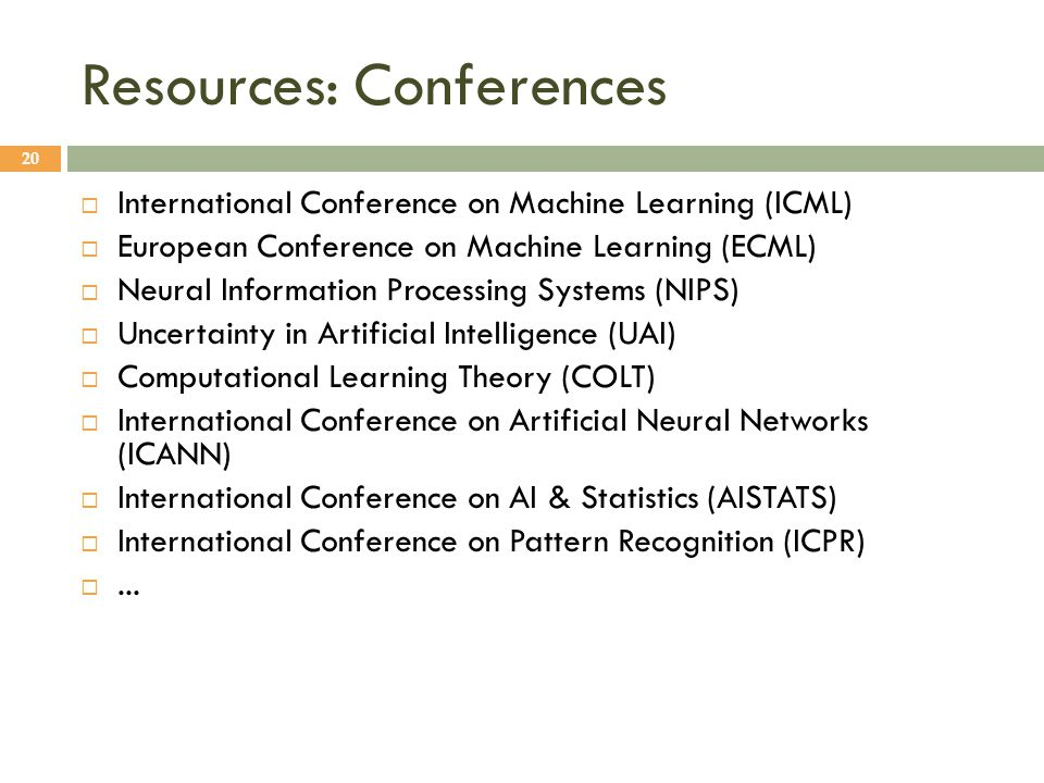 international conference on machine learning