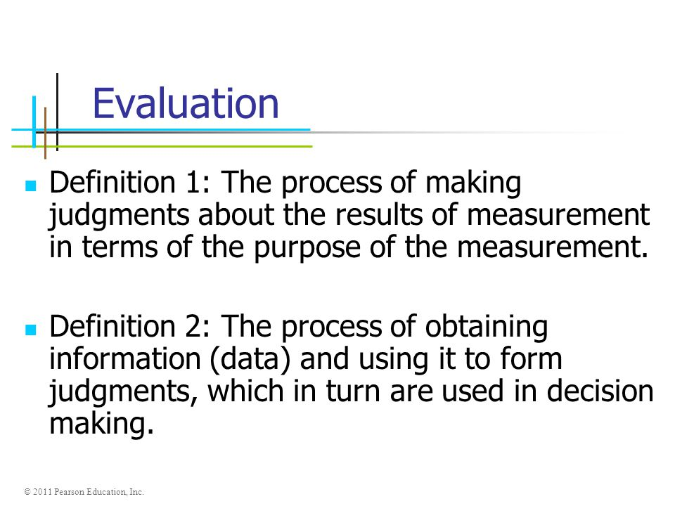 Introduction To Measurement And Evaluation - Ppt Video Online Download