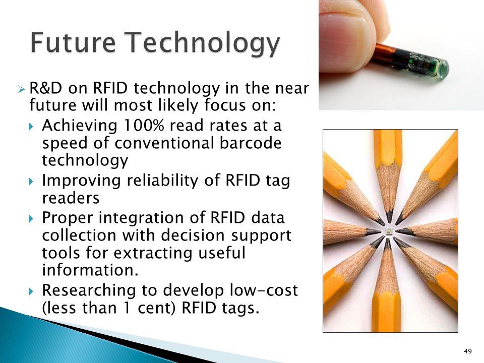 rfid technology history and future Biggest rfid and wireless iot event in  rfid & wireless iot tomorrow continued to grow for  technology & hardware developing an uhf rfid tag application.
