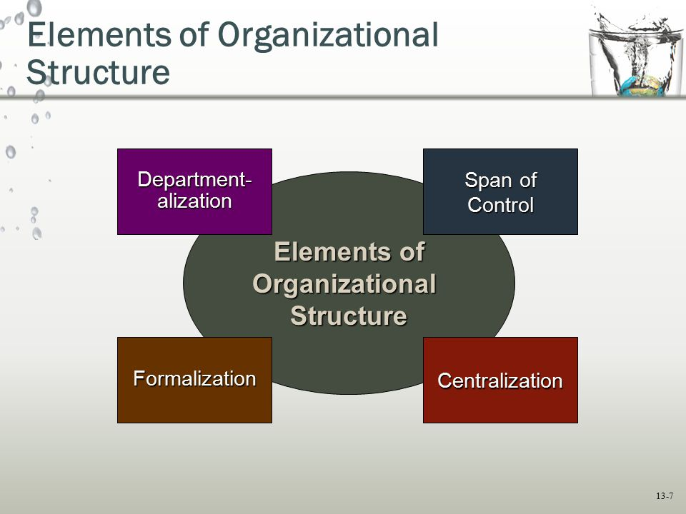 leadership and four basic elements of organizational structure The four basic elements of organizational structure are span of control from business 3341 at tamu kingsville.