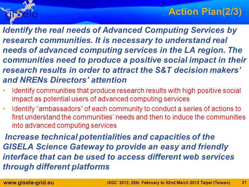 Action Plan(2/3)