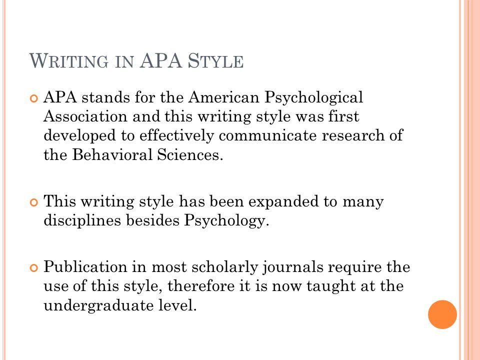writing an apa style research paper Custom research paper writing is on the top of the trend among high school genuine topic research and plot, apa or mla referencing without any hitch.