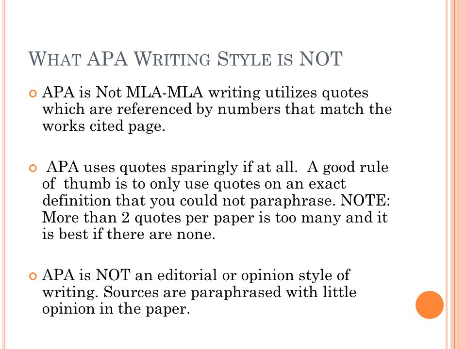 MLA Formatting Style Definition