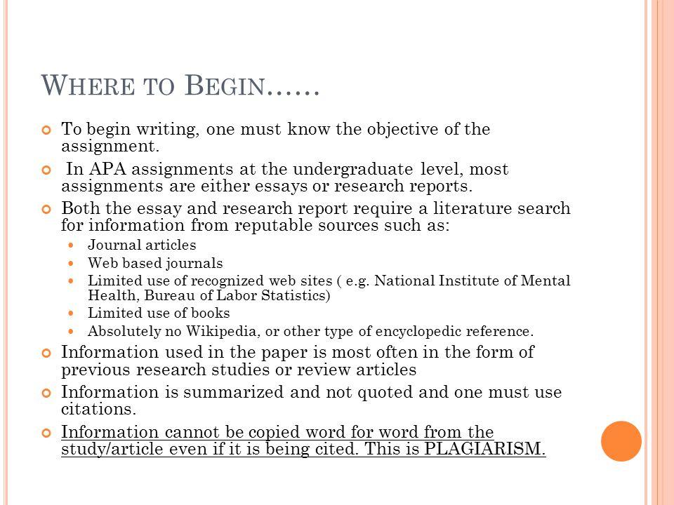 apa style assignments apa essay format sample brefash