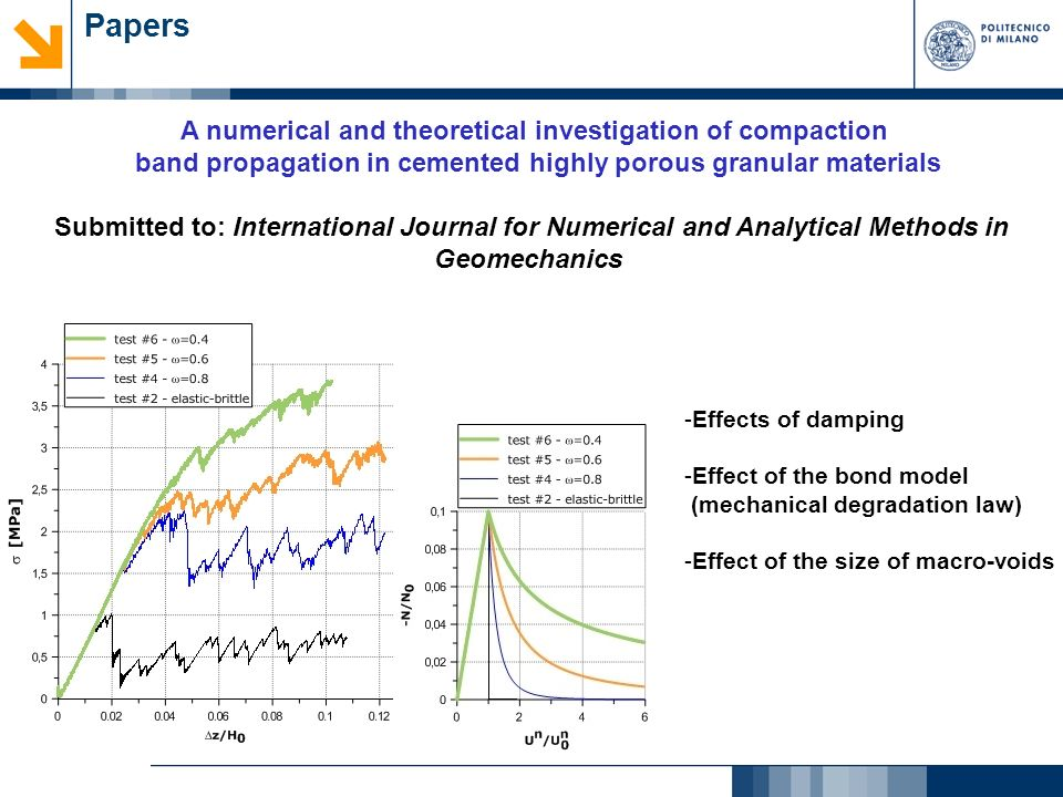 Papers A numerical and theoretical investigation of compaction