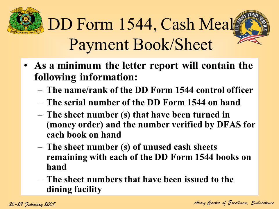 cash sheets