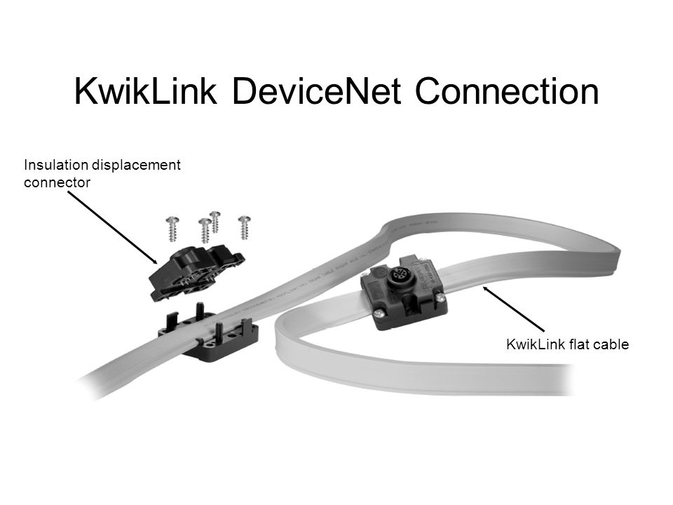 KwikLink+DeviceNet+Connection introduction to devicenet ppt video online download devicenet wiring diagram at virtualis.co