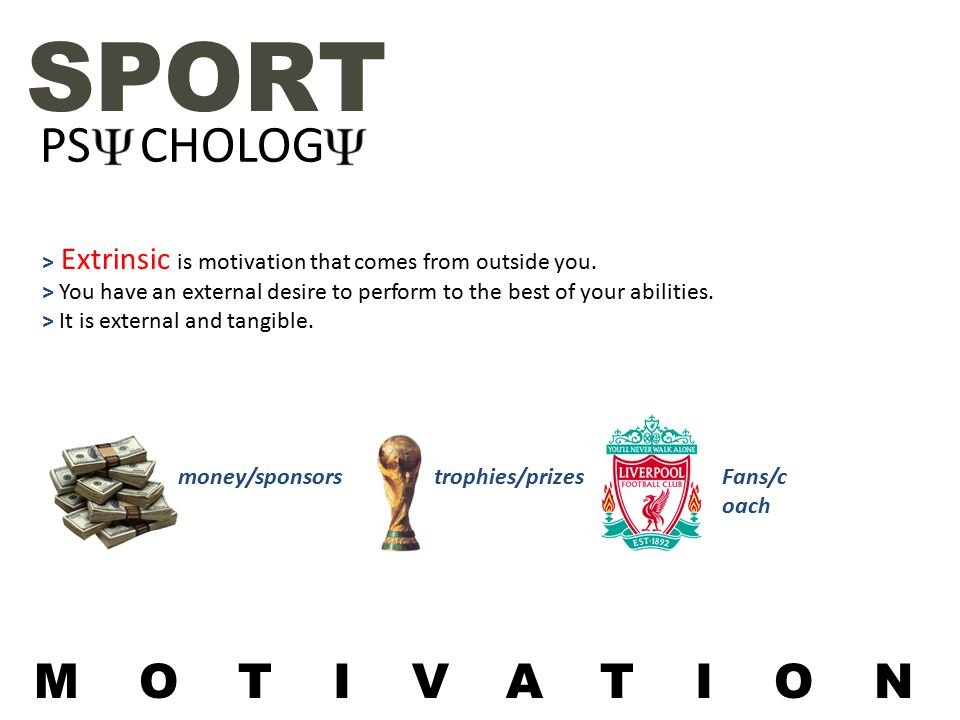 intrinsic and extrinsic motivation in sport pdf