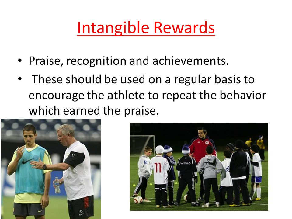 tangible and intangible rewards This study examined the effects of tangible and intangible forms of creativity- contingent rewards on employee creativity situation-specific.