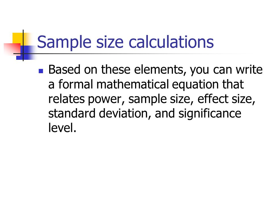 Marketing Research Sample Size Calculator Essay Sample