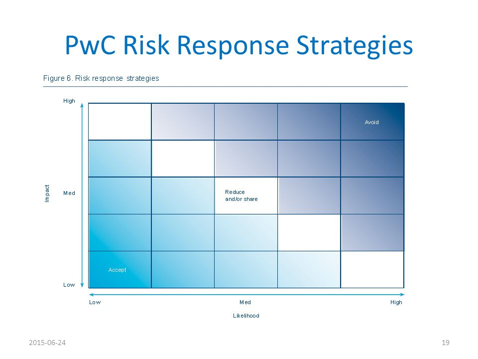 PwC Risk Response Strategies