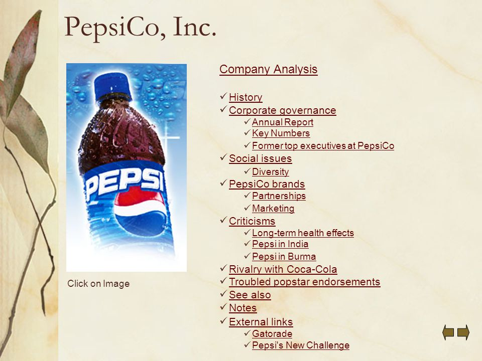 coke and pepsi case study analysis
