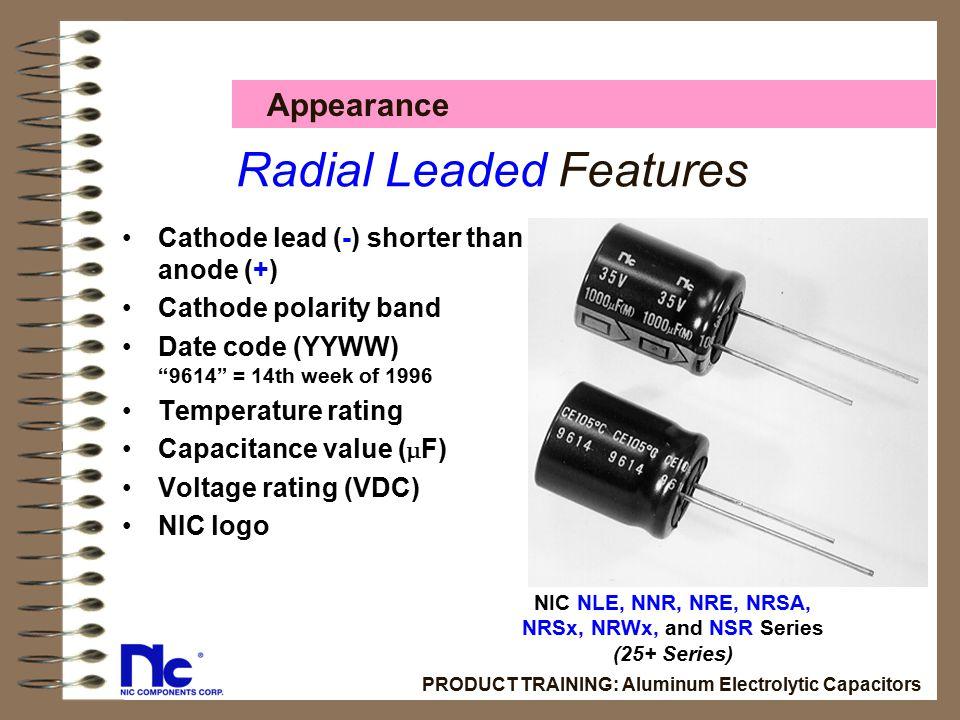 Electrolytic capacitor polarity