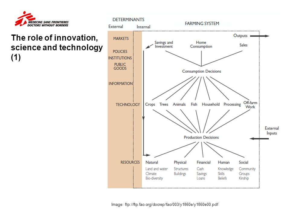 The role of innovation, science and technology (1)