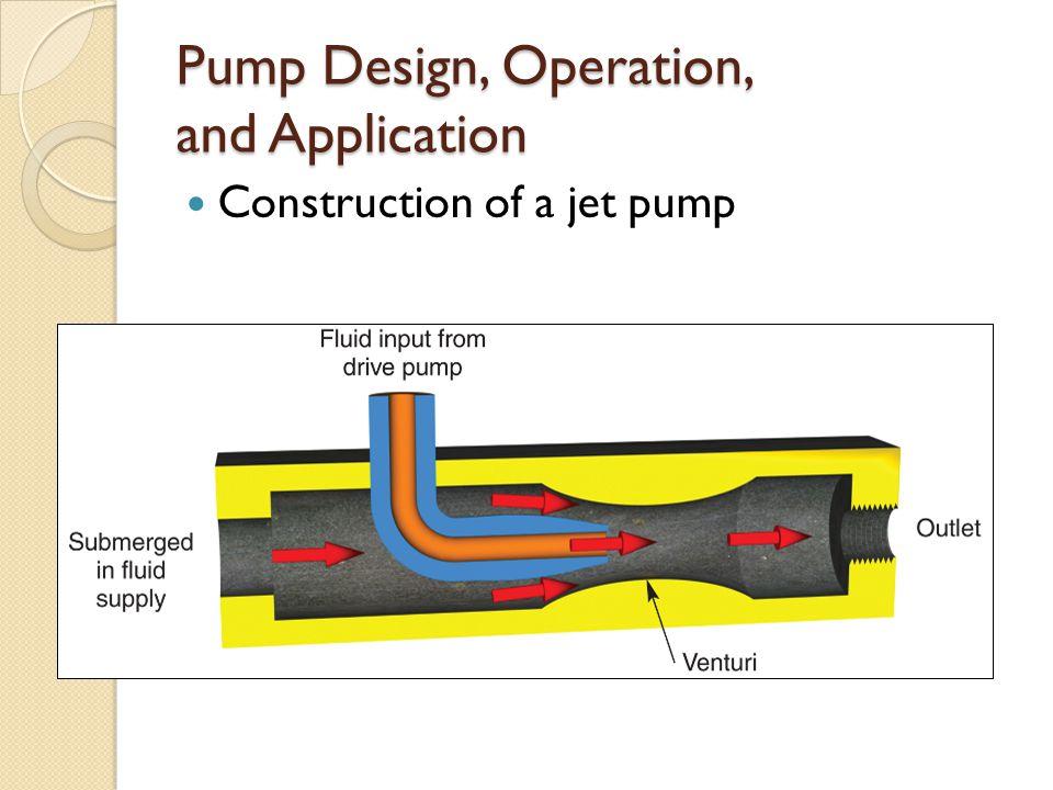 Jet pump nozzle design