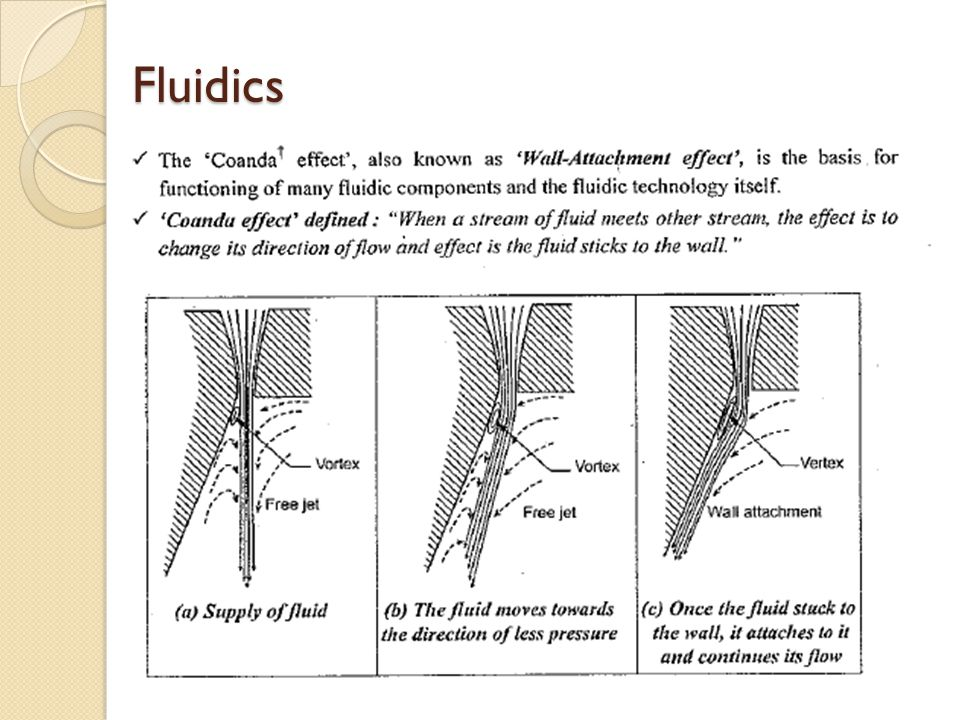 Fluidics