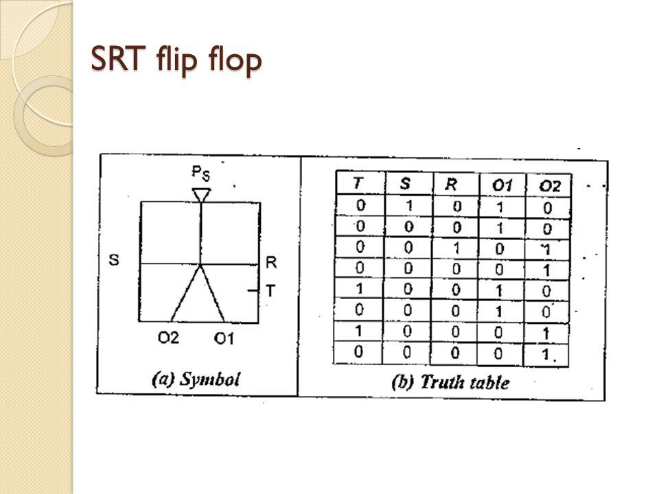 SRT flip flop