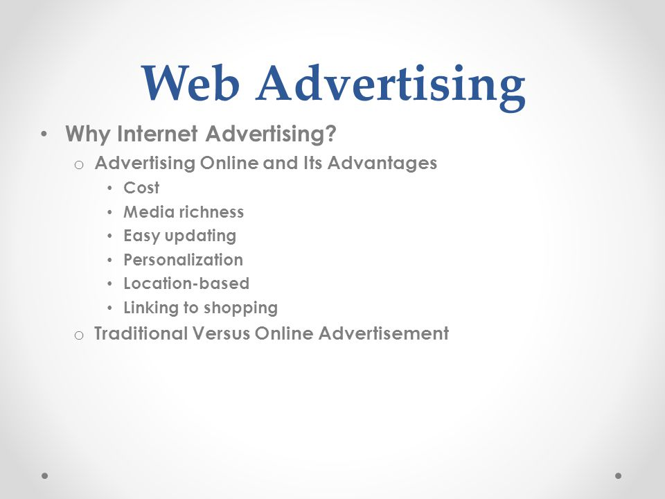 advertising and marketing on the internet in e commerce pdf