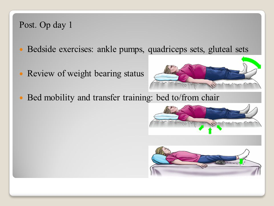 pre op hip replacement exercises pdf